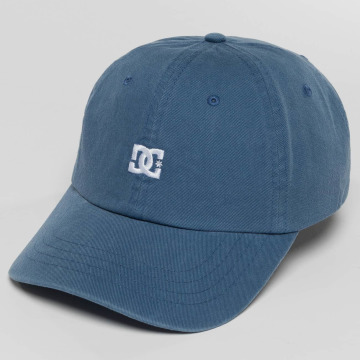 DC snapback cap Fred blauw