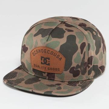 DC snapback cap Betterman camouflage