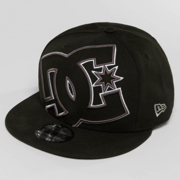 DC Snapback Cap Double Up schwarz