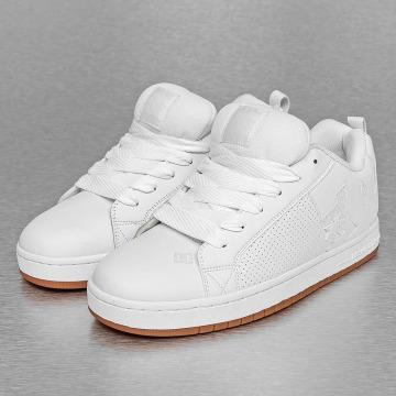 DC Sneaker Court Graffik bianco