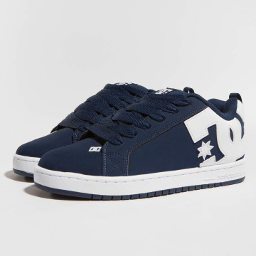 DC Sneaker Court Graffik blu
