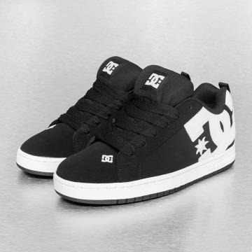 DC Sneaker Court Graffik nero