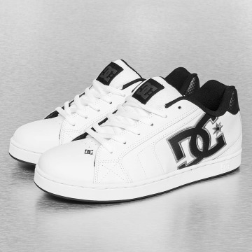 DC Sneakers Net bialy
