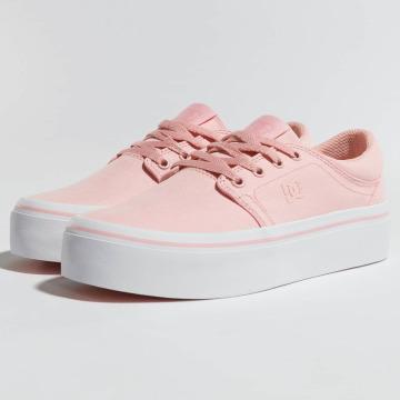 DC Sneakers Trase Platform TX rózowy