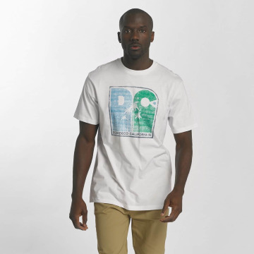 DC T-Shirt Sunset Palms white