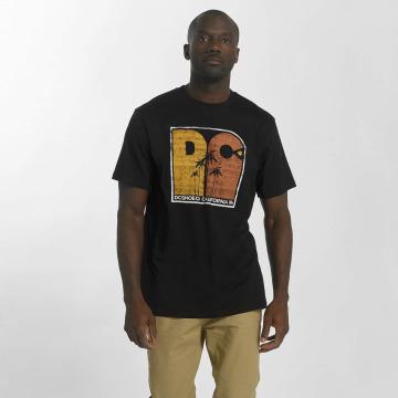 DC t-shirt Sunset Palms zwart