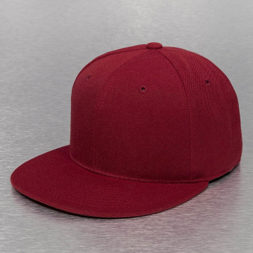 Decky USA Fitted Cap USA Flat Bill rosso