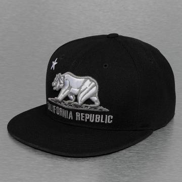 Decky USA Fitted Cap California zwart