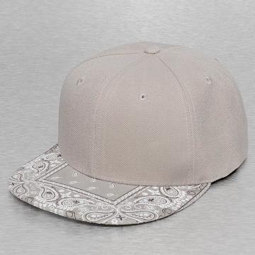 Decky USA Snapback Cap Bandanna grey