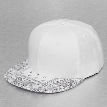 Decky USA Snapback Caps Bandanna valkoinen