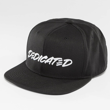 DEDICATED snapback cap Marker Black zwart