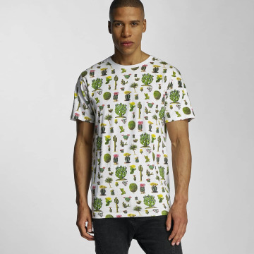 DEDICATED T-paidat Cactus valkoinen