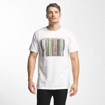 DEDICATED T-paidat Vinyl Collection valkoinen