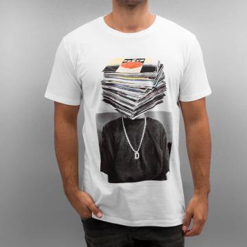 DEDICATED T-shirt Nicklas Johnson Record Head bianco