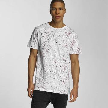 DEDICATED T-shirt Spray Drips bianco