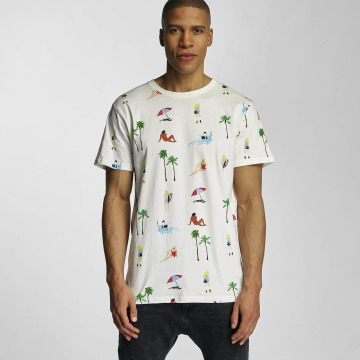 DEDICATED T-shirt Beach Life bianco