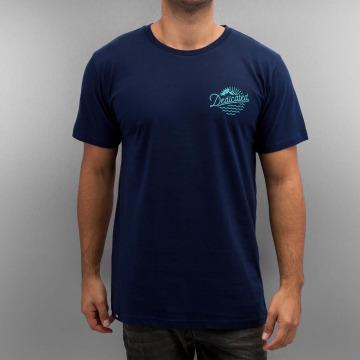 DEDICATED t-shirt Good Vibes blauw