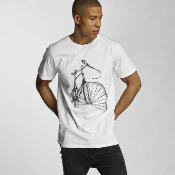 DEDICATED T-Shirt Sketch Bike weiß