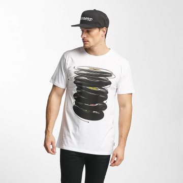 DEDICATED T-Shirt Vinyl Spin weiß