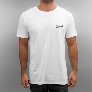 DEDICATED T-Shirty Stockholm Mountain Script bialy