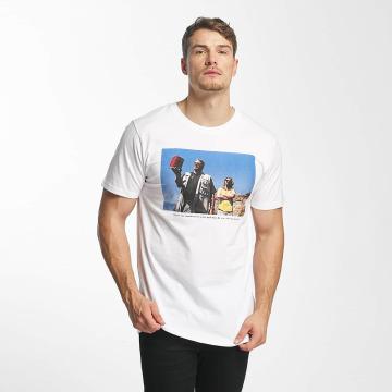 DEDICATED T-skjorter Donny hvit