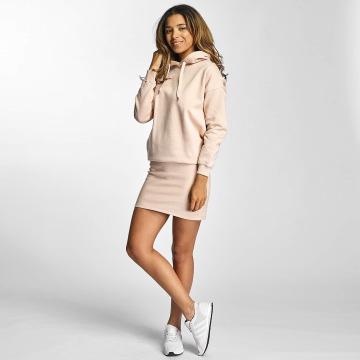 DEF Šaty Cropped růžový