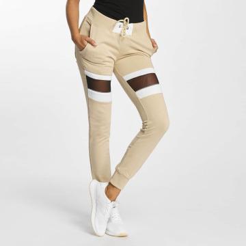 DEF Спортивные брюки Selina бежевый