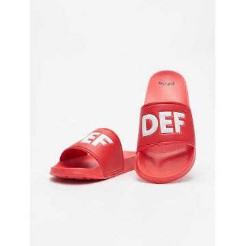 DEF Шлёпанцы Defiletten красный