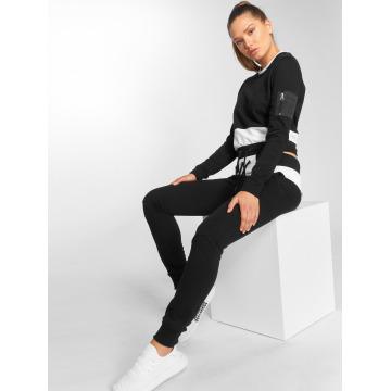 DEF Anzug Sweat Suit schwarz