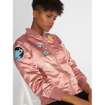 DEF Bomber jacket Wow! rose