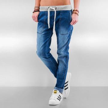 DEF Boyfriend Jeans Rib blå