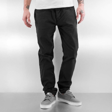 DEF Chinot/Kangashousut Basic Pants harmaa