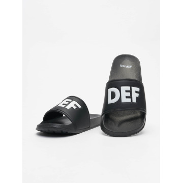 DEF Claquettes & Sandales Defiletten noir