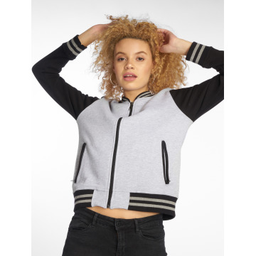 DEF College Jacket Sugar grey