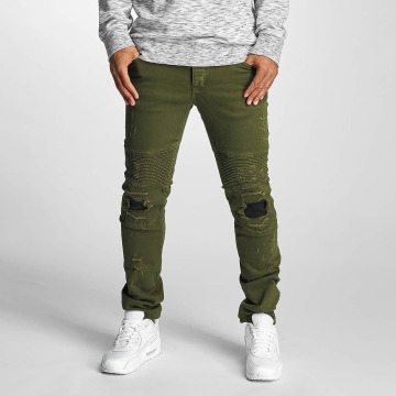 DEF Jean coupe droite Elom olive