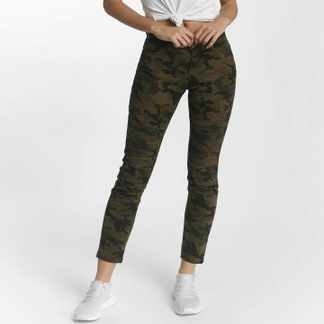 DEF Jean slim Ribbed camouflage
