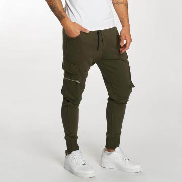 DEF Jogging kalhoty Bohot olivový