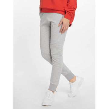 DEF joggingbroek Quilted grijs