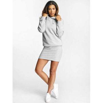 DEF jurk Cropped grijs