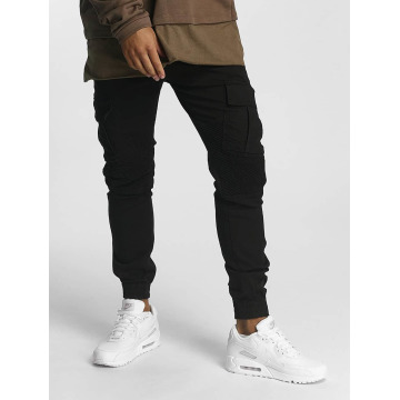 DEF Pantalon chino Jet noir