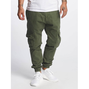 DEF Pantalone Cargo Kindou oliva