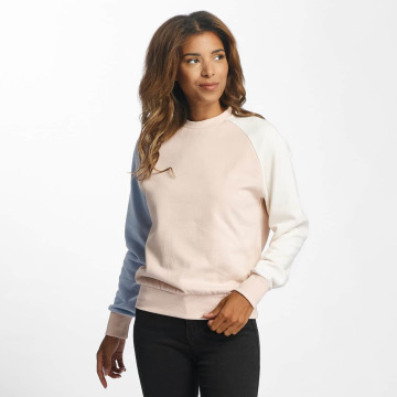 DEF Pullover Colorblocking rosa
