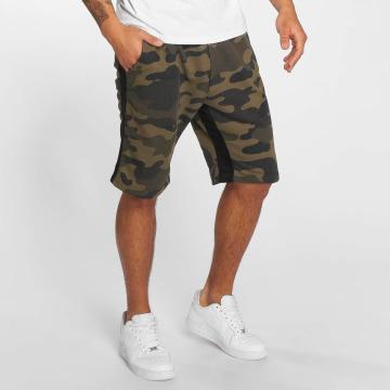 DEF Shorts Mokolade kamouflage