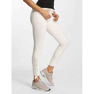 DEF Skinny Jeans Strap bílý