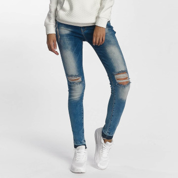 DEF Skinny jeans Used blå
