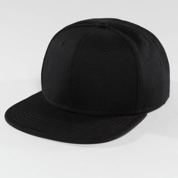 DEF snapback cap Basic zwart