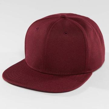 DEF Snapback Caps Basic czerwony