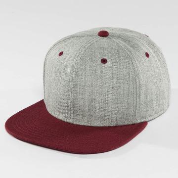 DEF Snapback Caps Basic grå