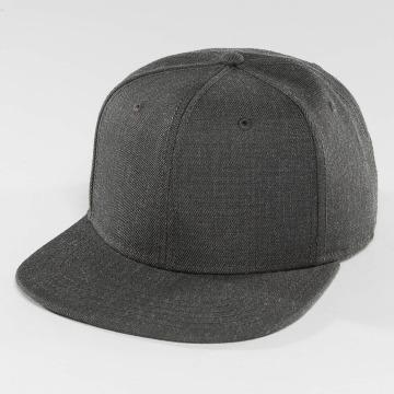 DEF Snapback Caps Basic harmaa
