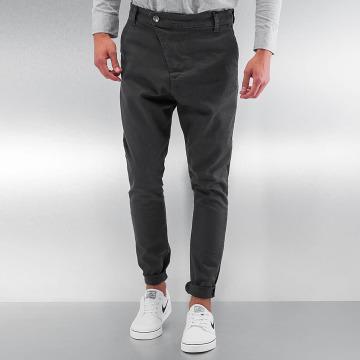 DEF Stoffbukser Antifit grå